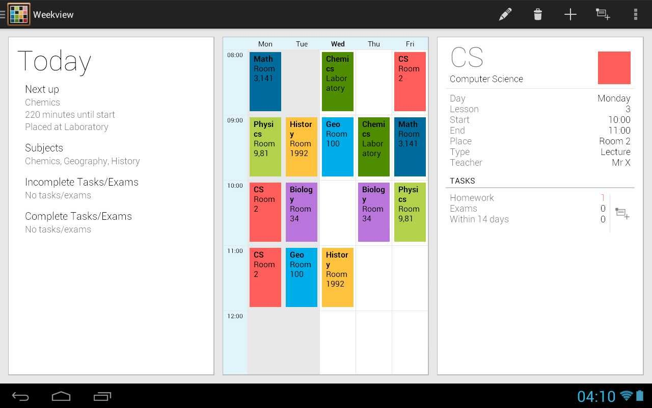 app-para-android-school-timetable-deluxe